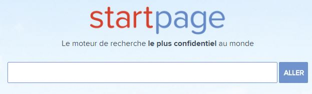startpage screenshoot